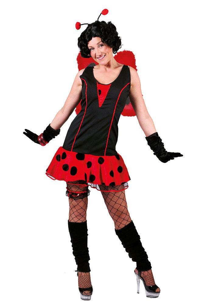 Kostüm Kleid Marienkäfer Dame (Kostüme) günstige Karnevalskostüme ...