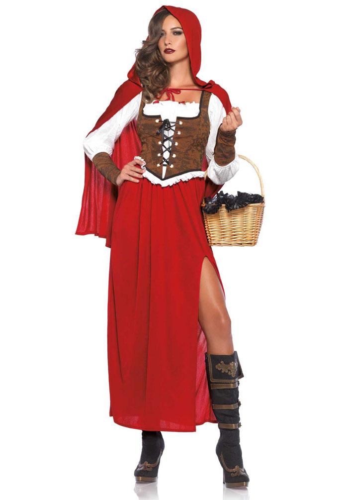 Kostum Rotkappchen Klassisch Dame Luxus Kostume