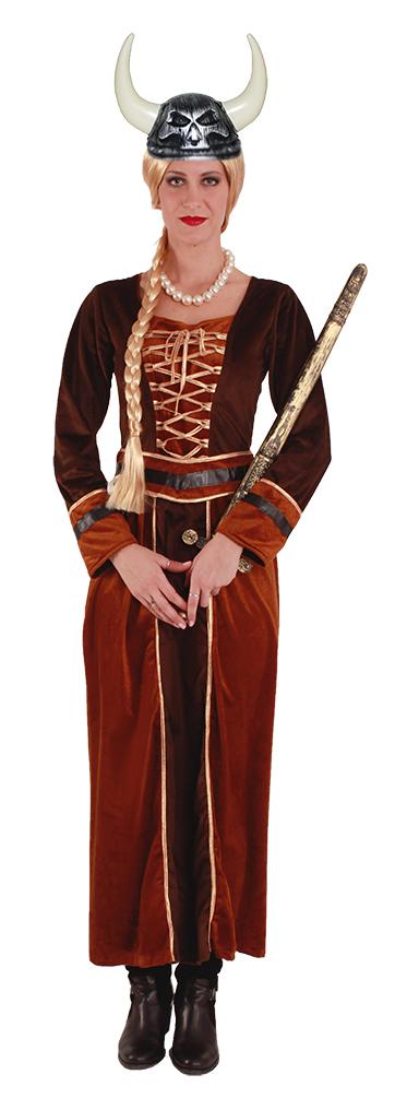 Kostum Wikingerin Kriegerin Dame Kostume