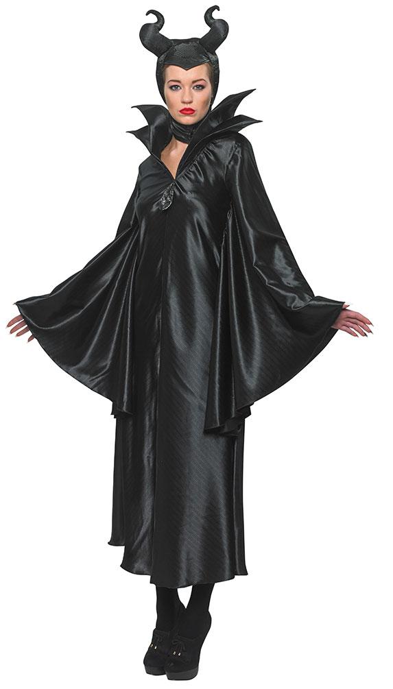 Maleficient Damen Kostum Bose Stiefmutter Konigin Schwarze Fee Kostume