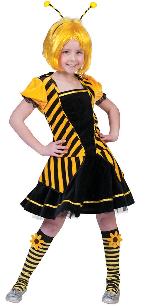 Kostüm Biene Kind : kost m kleid biene kind kost me ~ Frokenaadalensverden.com Haus und Dekorationen