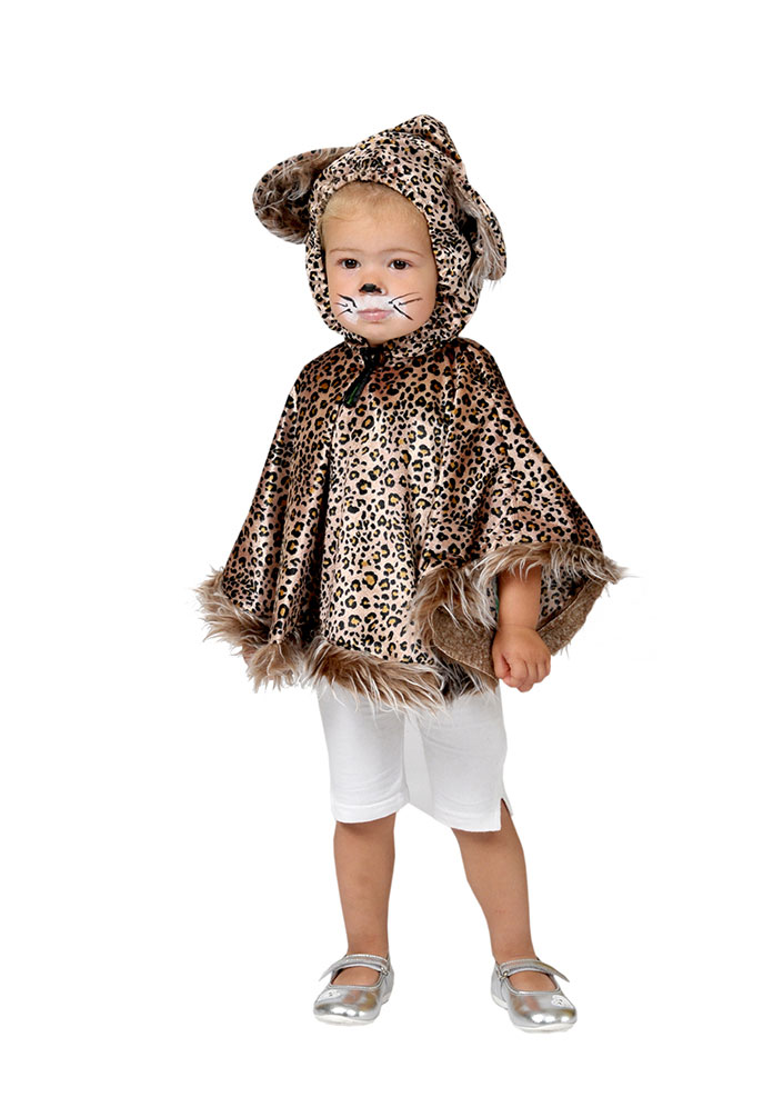 Kostum Leoparden Cape Baby Kostume