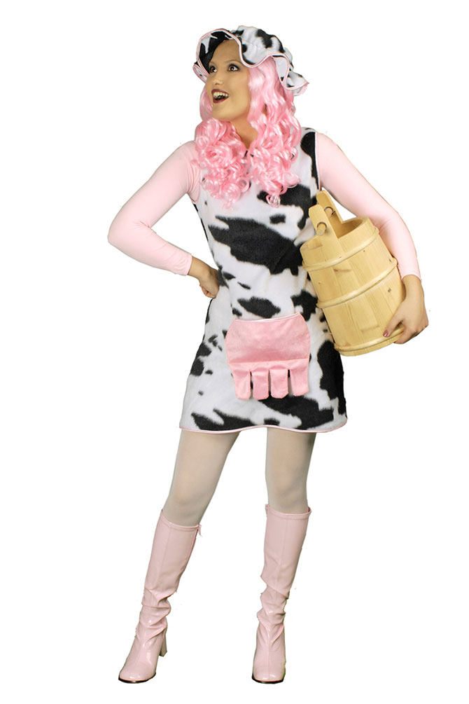 Kostüm Kuh Kleid (Kostüme) günstige Karnevalskostüme von Karneval ...