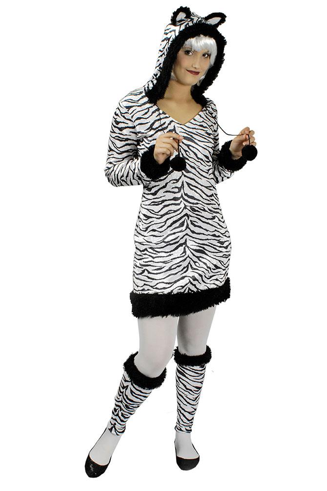 Kostum Zebra Dame