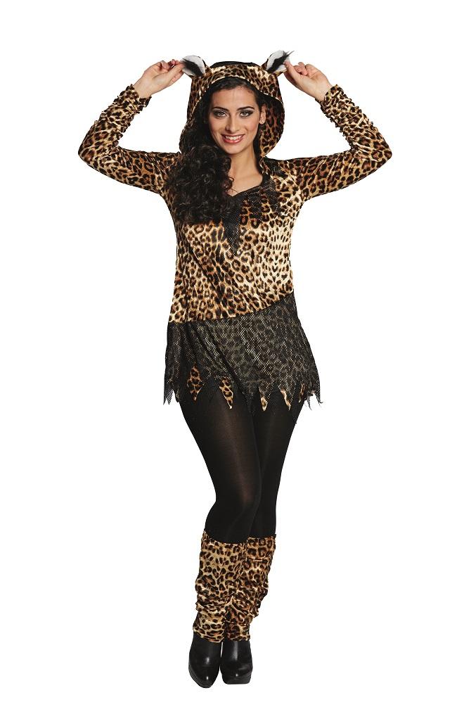 Kostüm Leopard Kleid (Kostüme) günstige Karnevalskostüme von ...
