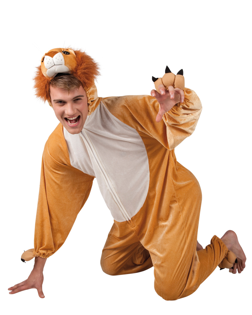 Kostum Lowe King Plusch Herr Kostume