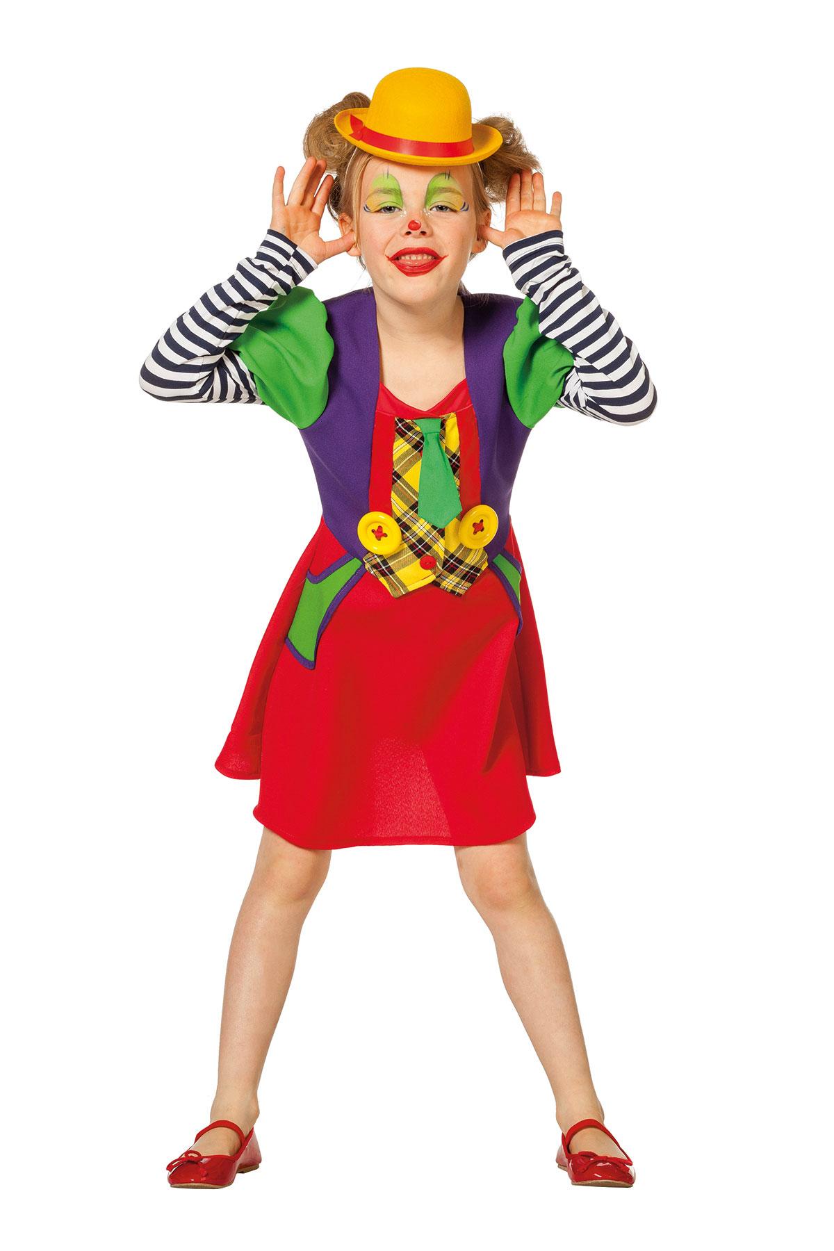 Clown Zirkus Kostum Madchen Bunt