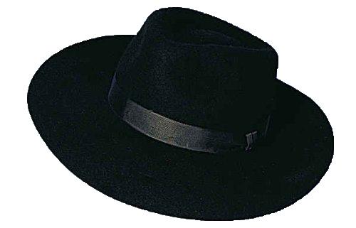Gangster Zylinder Hut Schwarz Hute
