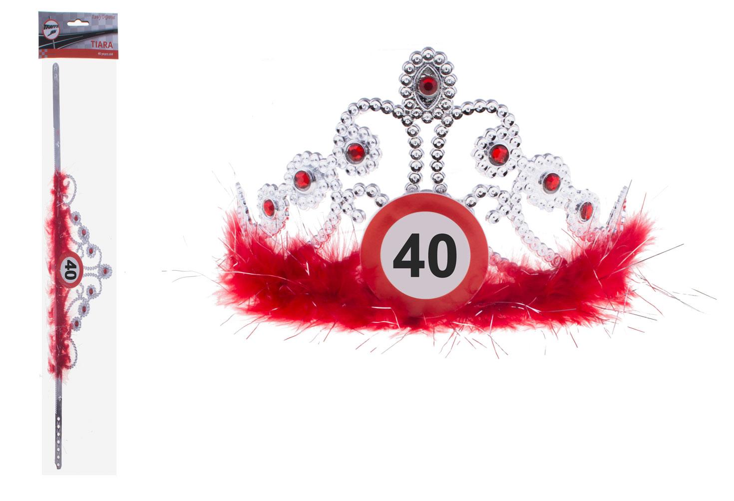 Krone Geburtstag Verkehrszeichen 40 Jahre Hüte