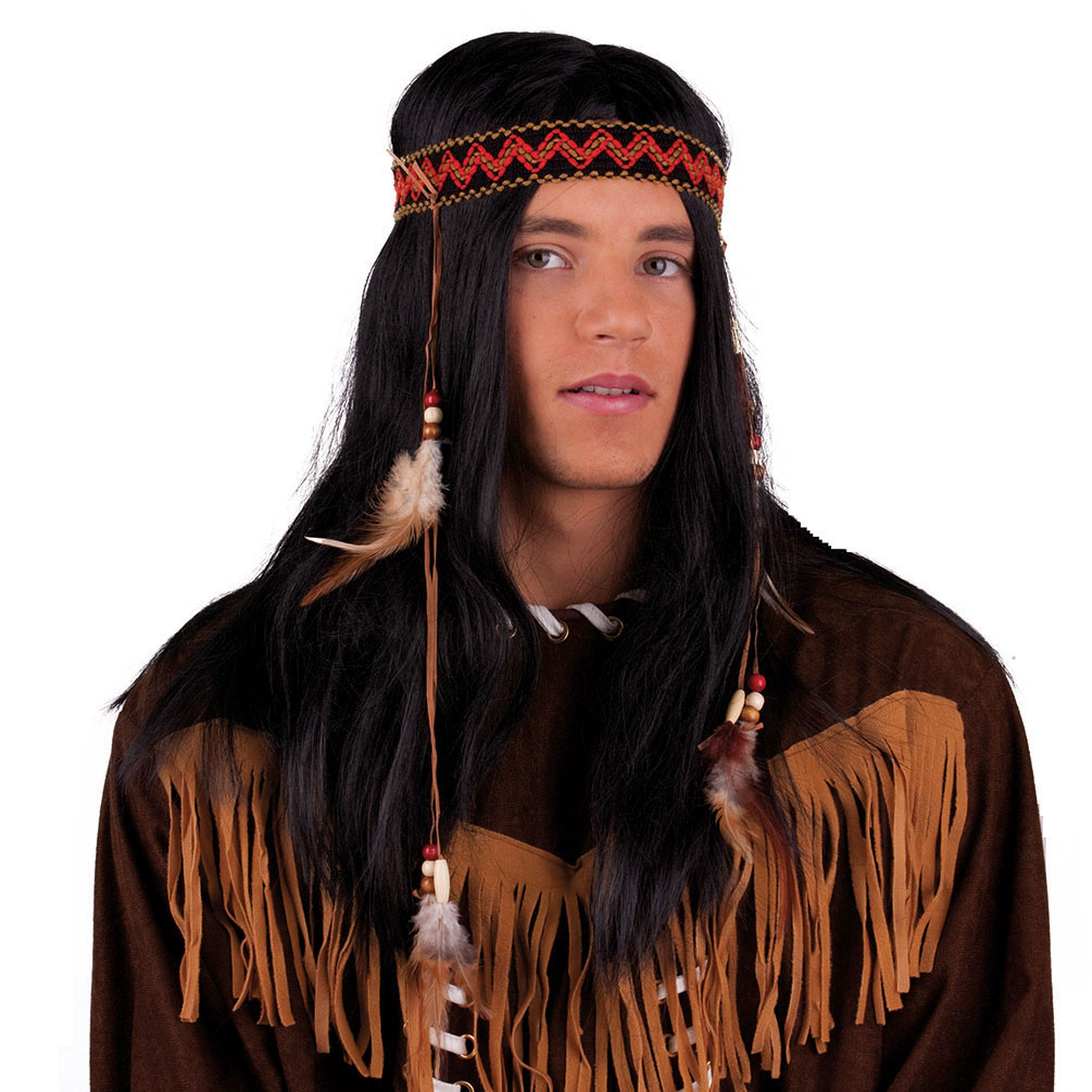 Perucke Indianer Buffalo Bill Perucken