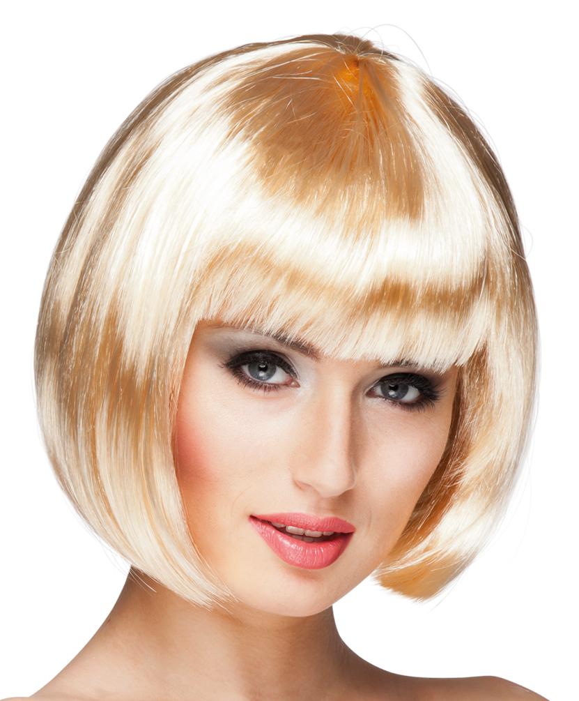 gemütlich frisch Rabatt-Verkauf billigsten Verkauf Perücke Dame Kurz Karneval blond