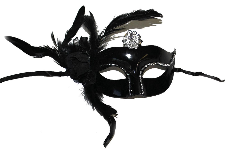 maske luxus schwarz zubeh r. Black Bedroom Furniture Sets. Home Design Ideas