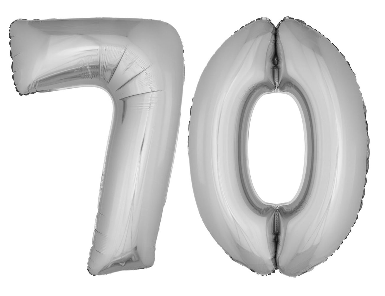 Folienballons luftballon set xxl zahl geburtstag 70 jahre for Dekoration 70 jahre
