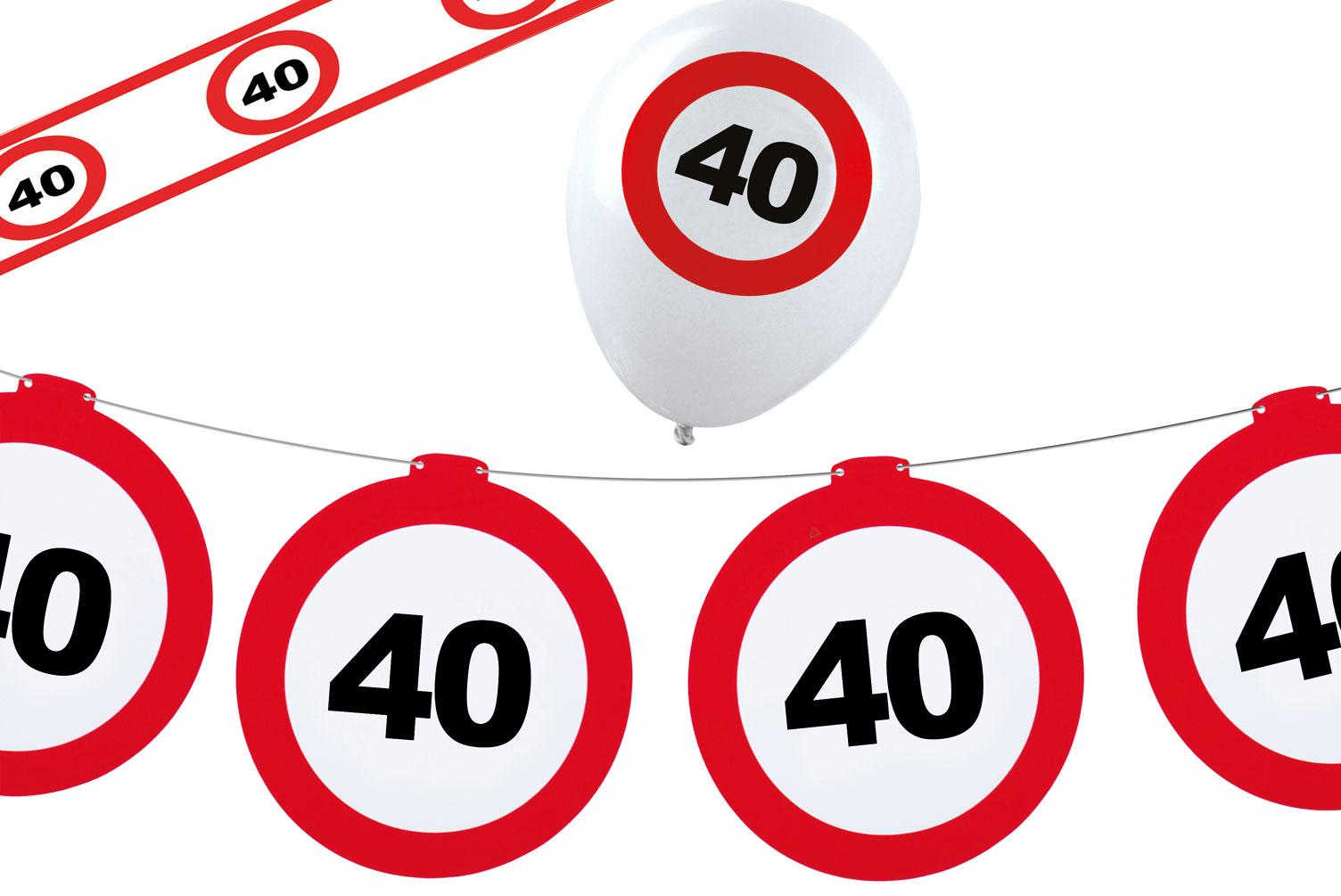 Geburtstag 40 deko