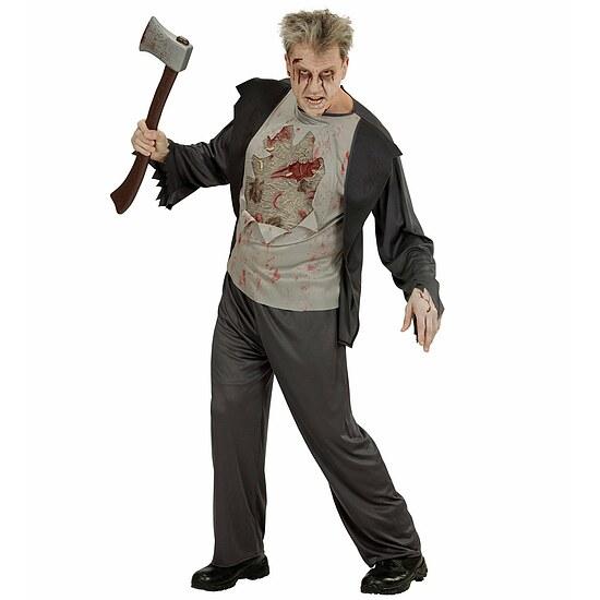 horror kost m herren zombie mit beil und blut kost me. Black Bedroom Furniture Sets. Home Design Ideas