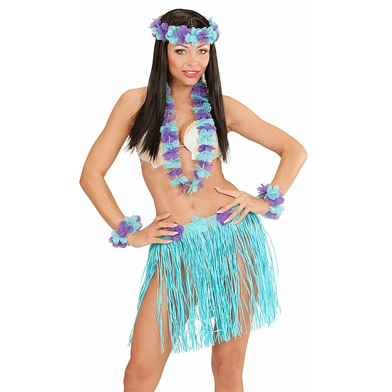 Hawaii Set blau 5 Tlg