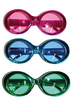 Brille Metallic