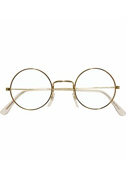 Brille Metall gold