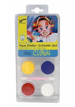 Aqua Schmink Set Clown