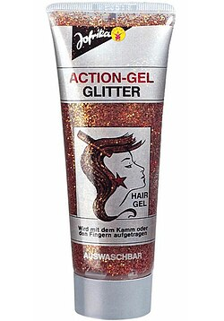 Action-Gel Glitter gold