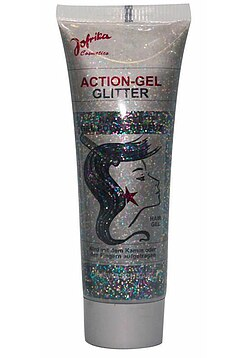 Action-Gel Glitter bunt