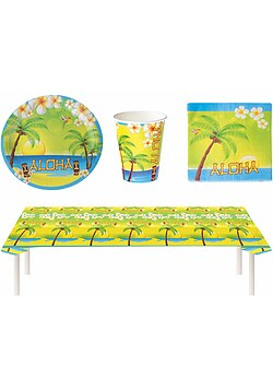 Party Set Hawaii Sommer Aloha 29 Teile