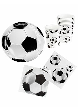 Party Set Fußball Deutschland Fan-Set WM 2018 Party 24 Teile